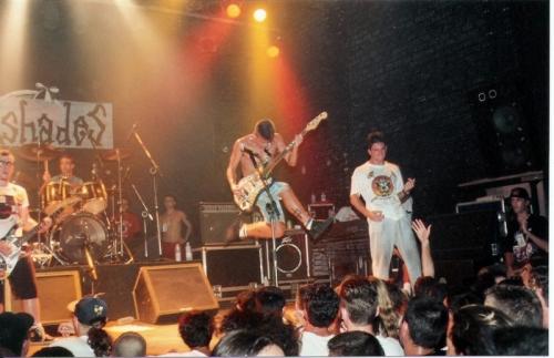 Pinheads no Aeroanta, 1995 - crédito da foto: nosso camarada Francesco Copolla